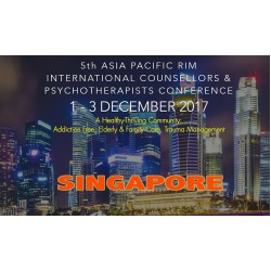 5th ASIA PACIFIC RIM INTERNATIONAL COUNSELLORS & PSYCHOTHERAPISTS CONFERENCE